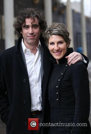 Stephen Mangan and Tamsin Greig