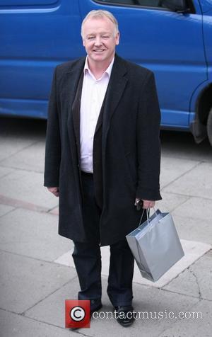 Les Dennis outside the ITV studios London, England - 01.03.11