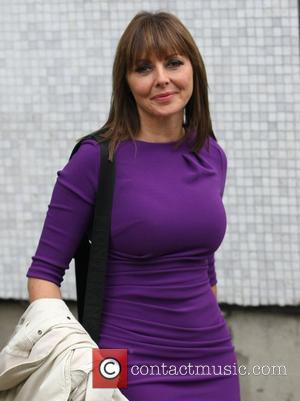 Carol Vorderman leaves the ITV studios London, England - 07.10.11