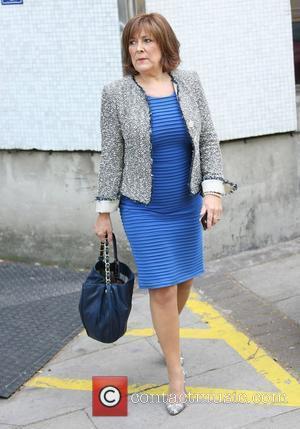 Lynda Bellingham at the ITV studios London, England - 23.05.11
