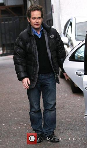 Tom Hollander leaves the ITV studios London, England - 01.02.11