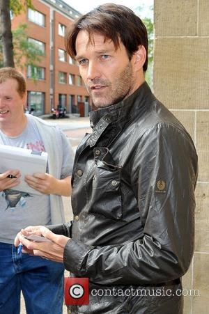 Stephen Moyer  outside the ITV studios London, England - 01.09.11