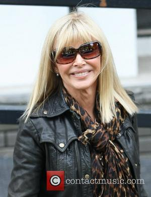 Britt Ekland leaving the London studios after appearing on This Morning London, England - 23.05.11
