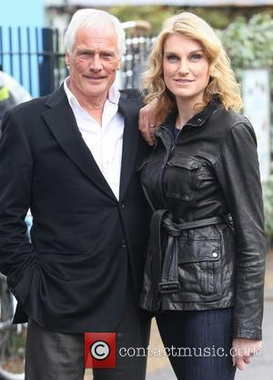 Robert Kilroy-Silk and Sally Bercow at the ITV studios London, England - 26.10.11