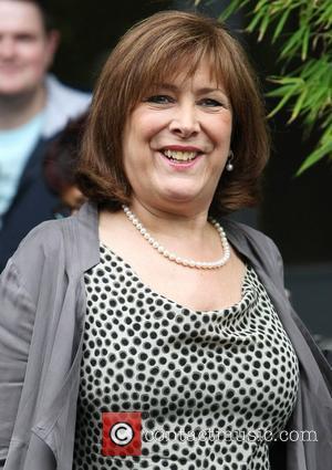 Lynda Bellingham leaves the ITV studios after presenting 'Loose Women' London, England - 27.05.11