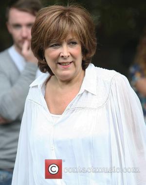 Lynda Bellingham at the ITV studios London, England - 11.07.11