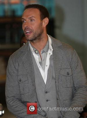 Jason Gardiner  outside the ITV studios London, England - 12.10.11