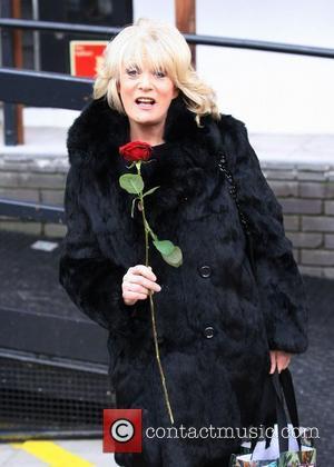 Sherrie Hewson at the ITV studios London, England - 14.02.11
