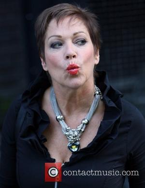 Loose Women's Denise Welch outside the ITV studios  London, England - 16.09.11