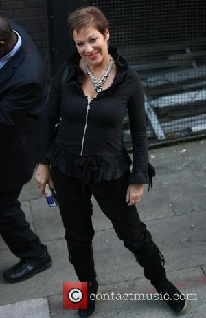Loose Women's Denise Welch outside the ITV studios  London, England - 16.09.11