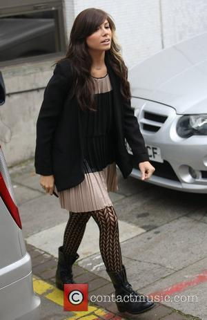Christina Perri outside the ITV studios  London, England - 10.10.11