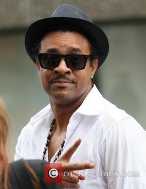 Shaggy gives a peace sign at the ITV studios London, England - 29.07.11