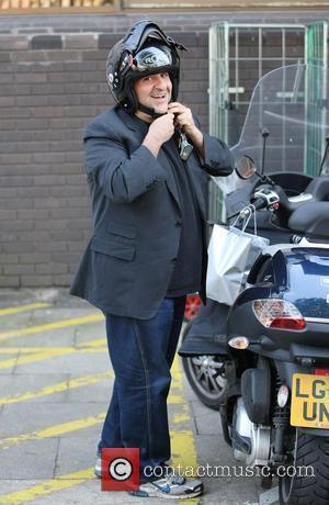 Omid Djalili  outside the ITV studios London, England - 08.04.11