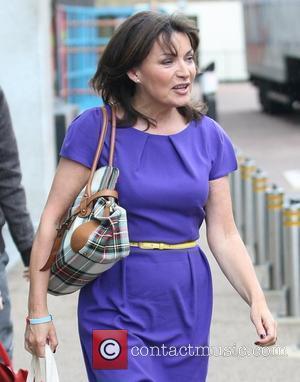 Lorraine Kelly outside the ITV studios London, England - 13.06.11