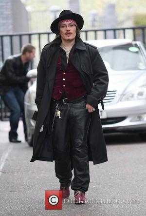 Adam Ant at the ITV studos London, England - 15.04.11