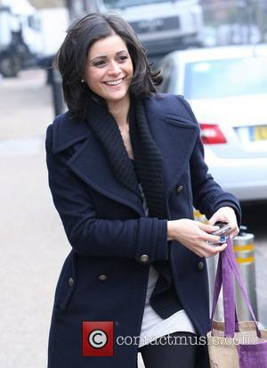 Lucy Verasamy Celebrities outside the ITV studios London, England - 18.02.11