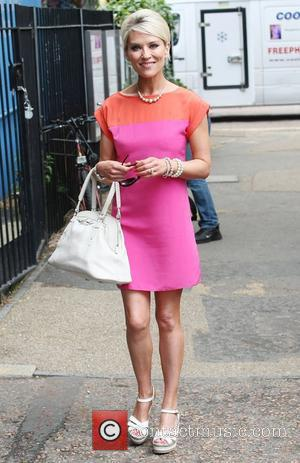Zoe Lucker  at the ITV studios London, England - 09.06.11