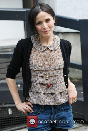 Andrea Corr outside the ITV studios London, England - 31.05.11