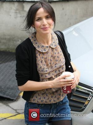 Andrea Corr outside the ITV studios London, England - 31.05.11