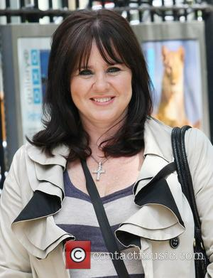 Coleen Nolan outside the ITV studios London, England - 31.05.11