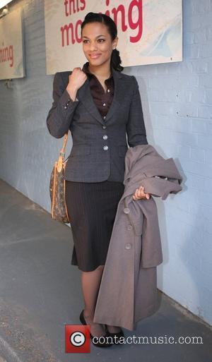 Freema Agyeman outside the ITV studios London, England - 07.03.11