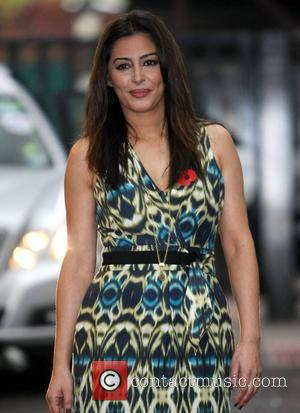 Laila Rouass at the ITV studios London, England - 08.11.11