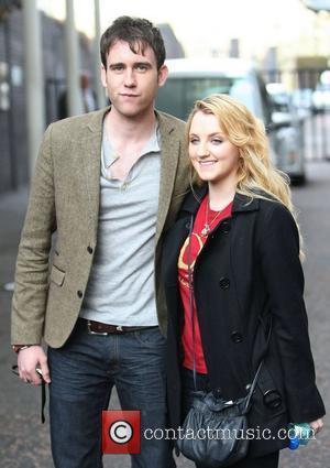 Matthew Lewis and Evanna Lynch