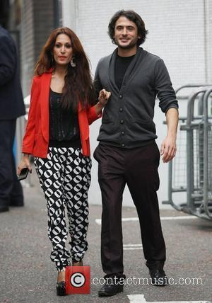 Preeya Kalidas and Marc Elliott at the ITV studios London, England - 13.10.11
