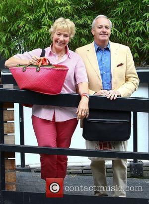 Christine Hamilton and Neil Hamilton at the ITV studios London, England - 21.06.11