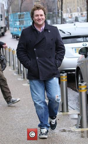 Michael Ball outside the ITV studios London, England - 23.02.11
