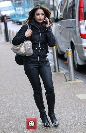 Tasmin Lucia Khan outside the ITV studios London, England - 23.02.11