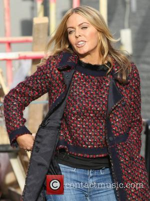 Patsy Kensit outside the ITV studios London, England - 23.11.11