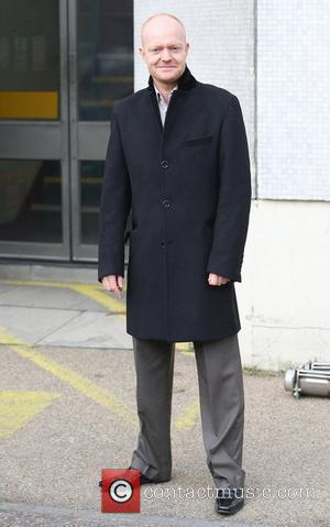 Jake Wood outside the ITV studios London, England - 23.11.11