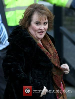 Susan Boyle at the ITV Studios London, England - 24.10.11