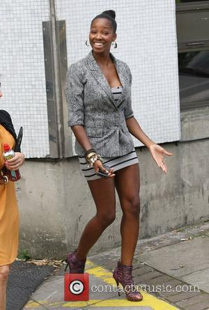 Jamelia at the ITV studios London, England - 25.07.11