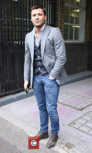 Mark Wright leaves the ITV studios London, England - 28.01.11