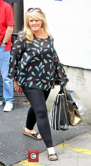 Sally Lindsay Celebrities outside the ITV studios London, England - 31.08.11