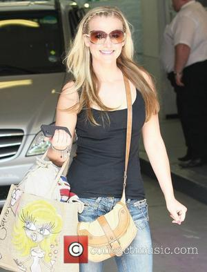 Carley Stenson at the ITV studios London, England - 01.08.11