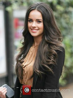 Georgia May Foote  outside the ITV studios London, England - 08.11.11