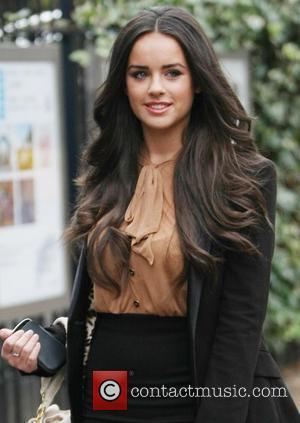 Georgia May Foote  outside the ITV studios London, England - 08.11.11