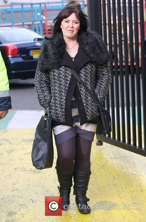 Coleen Nolan at the ITV studios London, England - 23.11.11