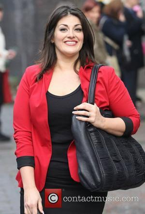 Jodie Prenger at the ITV studios London, England - 23.11.11