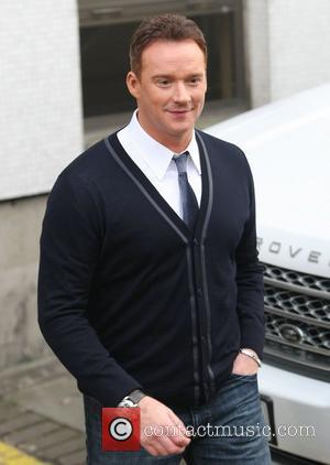 Russell Watson at the ITV studios London, England - 23.11.11