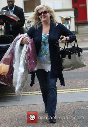 Linda Nolan at the ITV studios  London, England - 11.11.11