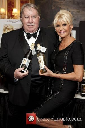 Andrew Caldwell and Ivana Trump Ivana Living Legend Wine Collection launch at Ten East 64th Street  New York City,...