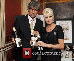 David Moya and Ivana Trump Ivana Living Legend Wine Collection launch at Ten East 64th Street  New York City,...