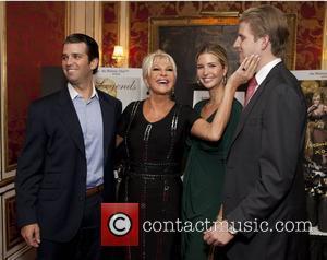 Donald Trump, Jr., Ivana Trump and Ivanka Trump and Eric Trump Ivana Living Legend Wine Collection launch at Ten East...