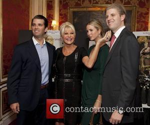 Donald Trump Jr, Eric Trump, Ivana Trump and Ivanka Trump