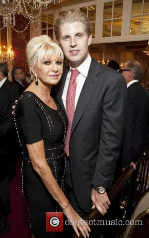Ivana Trump and Eric Trump Ivana Living Legend Wine Collection launch at Ten East 64th Street  New York City,...