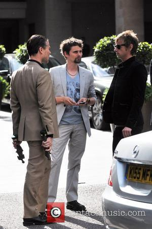 Matt Bellamy, Dom Howard and Muse